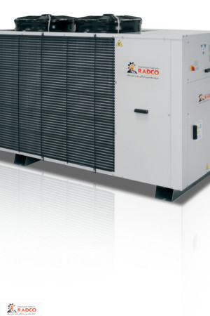 خرید، قیمت و فروش انواع چیلر ها و سیتم های تهویه مطبوع شرکت رادکو-چیلر تراکمی هوا خنک 20 تن شرکت رادکو
