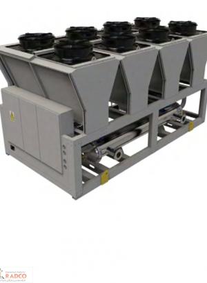 خرید، قیمت و فروش انواع چیلر ها و سیتم های تهویه مطبوع شرکت رادکو-چیلر تراکمی هوا خنک 80 تن شرکت رادکو