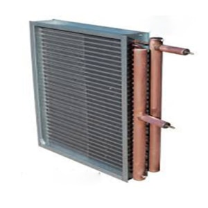 کندانسور با استفاده از هوای وارد شده در فن کویل ها ماده مبرد را خنک میکند