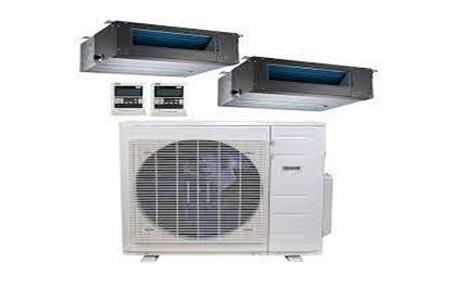 دستگاه های گرمایشی ساختمان داکت اسپلیت