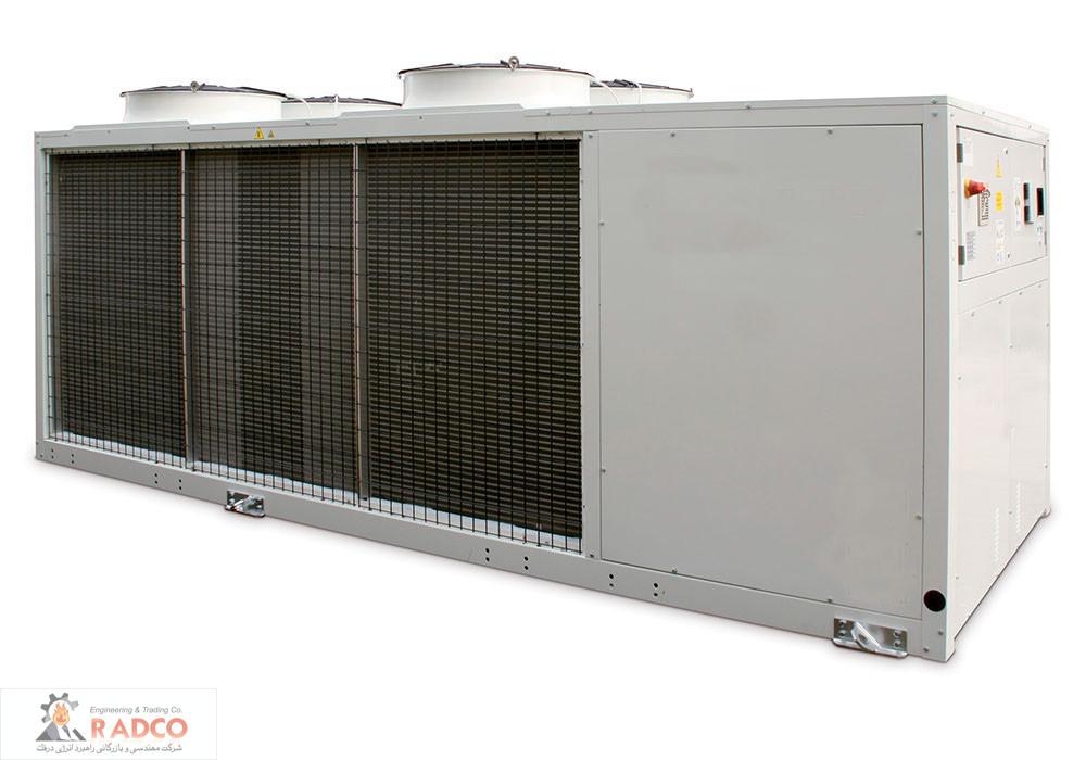 تراکمی هوا خنک اسکرال ا 30 تن تبرید - پروژه ها