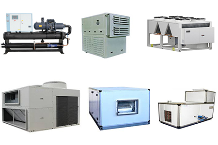 چیلر - سیستم تهویه مطبوع در کارخانه و مکان های صنعتی