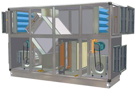 تولید هوای تازه در هواساز