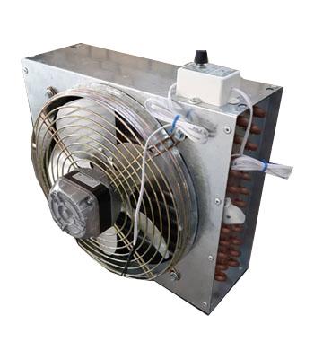 کندانسور تقطیر برقی کامل (کاور دار) رادکو 1HP |کندانسور یخچال صنعتی