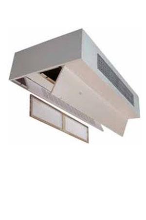 فن کویل سقفی با کابینت